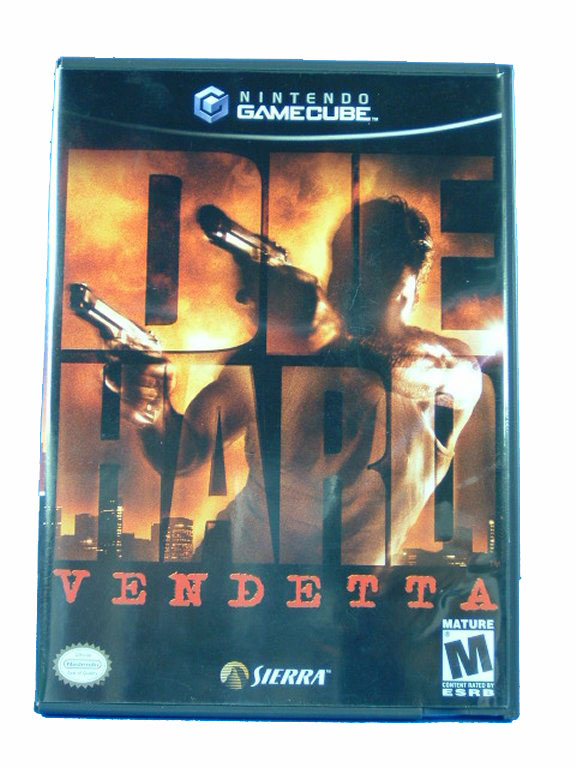 Game Cube Die Hard: Vendetta Complete - 2002
