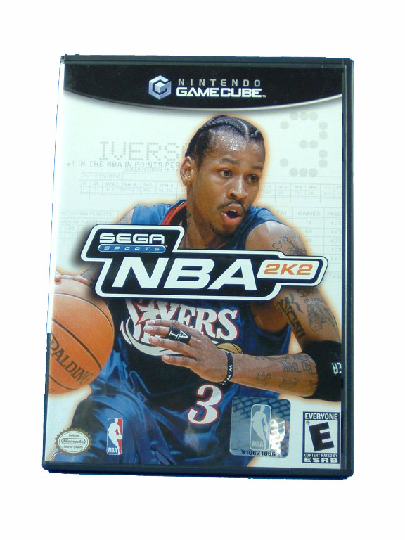 Game Cube NBA 2K2 Complete - 2002