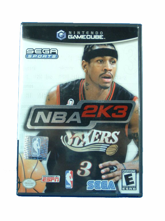 Game Cube NBA 2K3 Complete - 2002