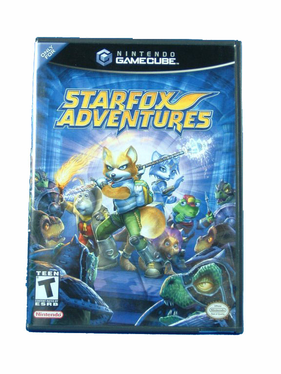 Game Cube Starfox Adventures Complete - 2002
