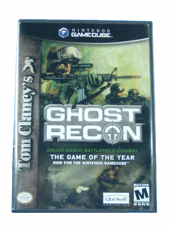 Game Cube Tom Clancy's Ghost Recon Complete - 2003