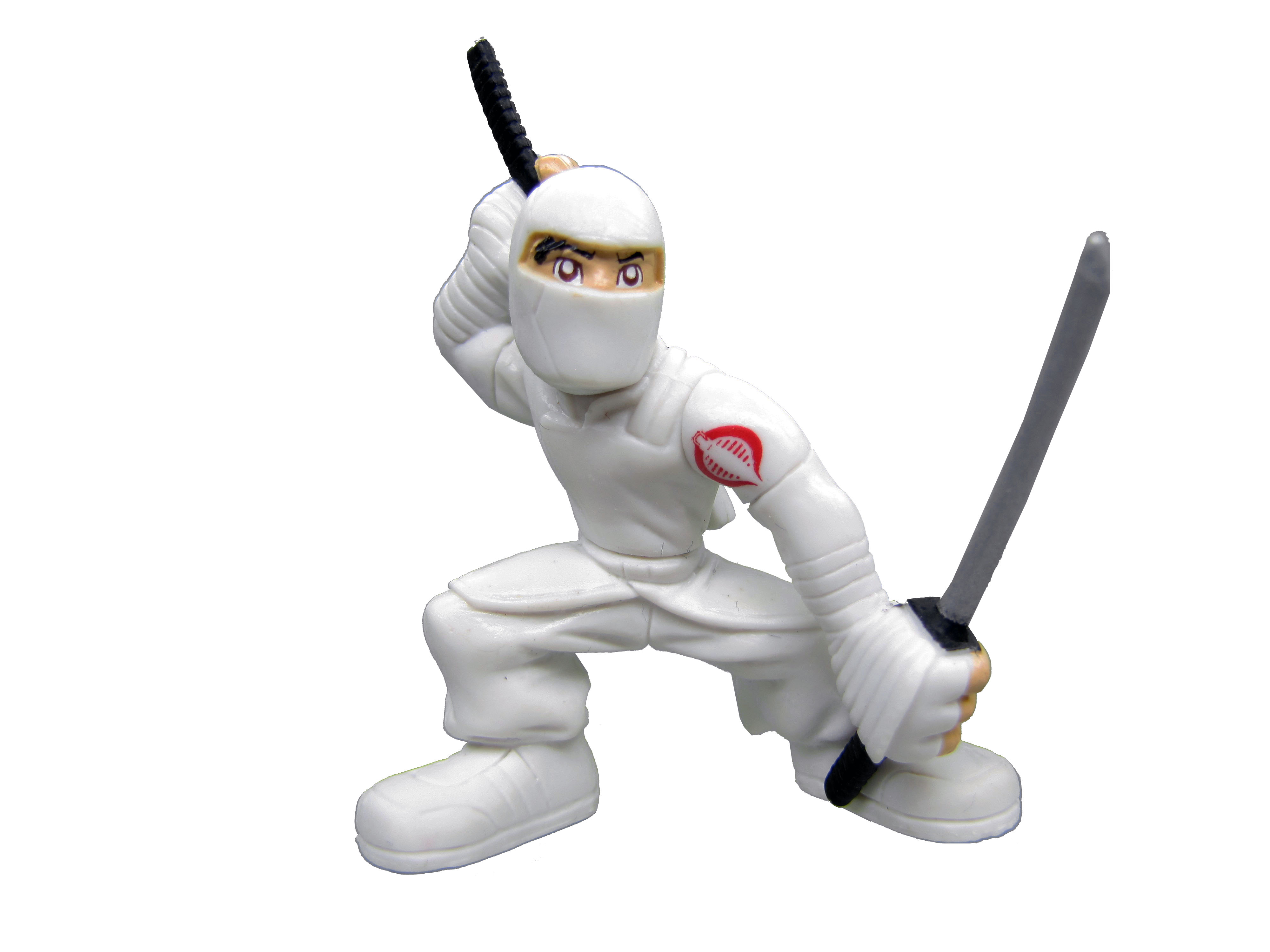 GIJoe Combat Heroes The Rise of Cobra Storm Shadow Complete
