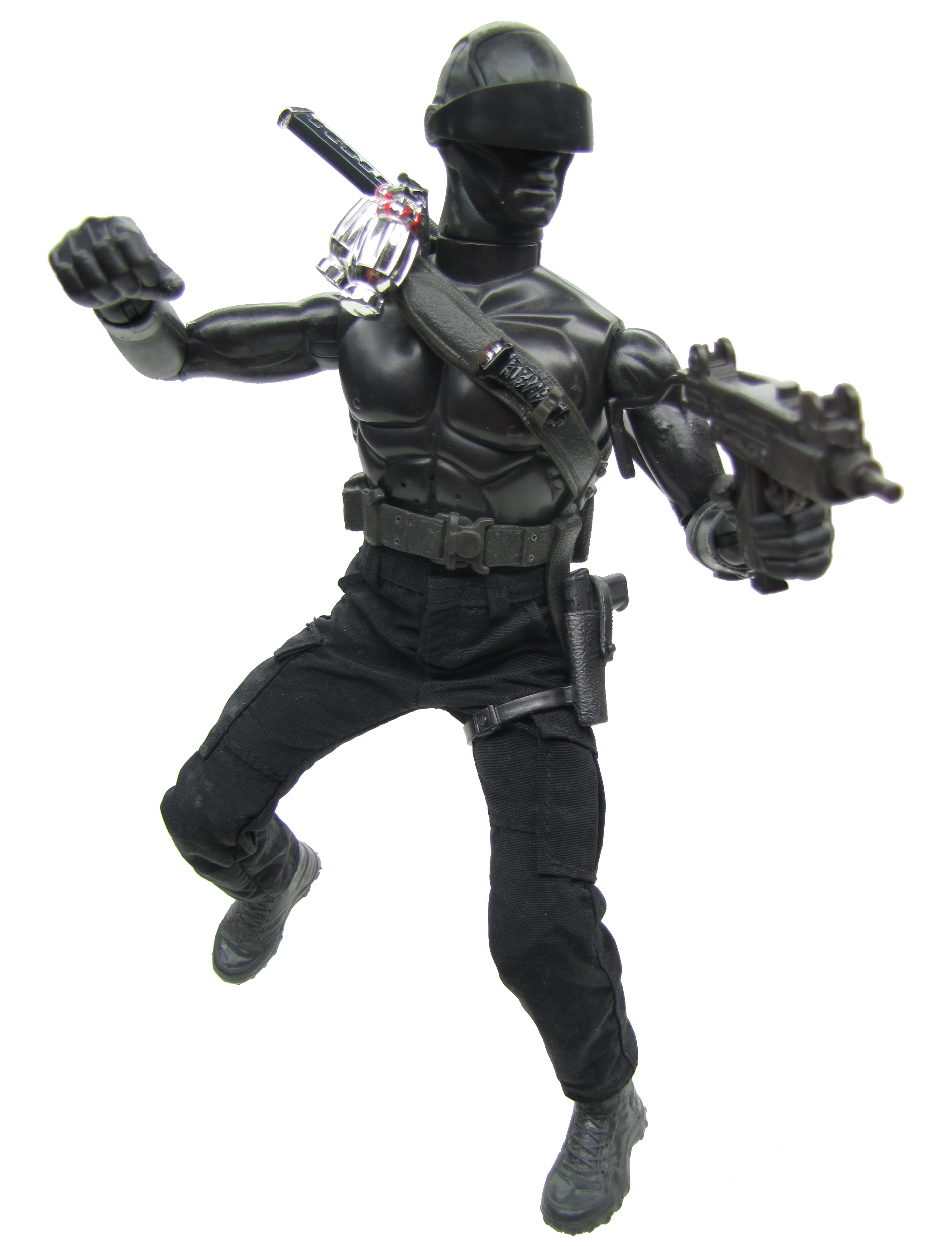 2009 GIJoe: The Rise of Cobra Snake Eyes COMMANDO Complete