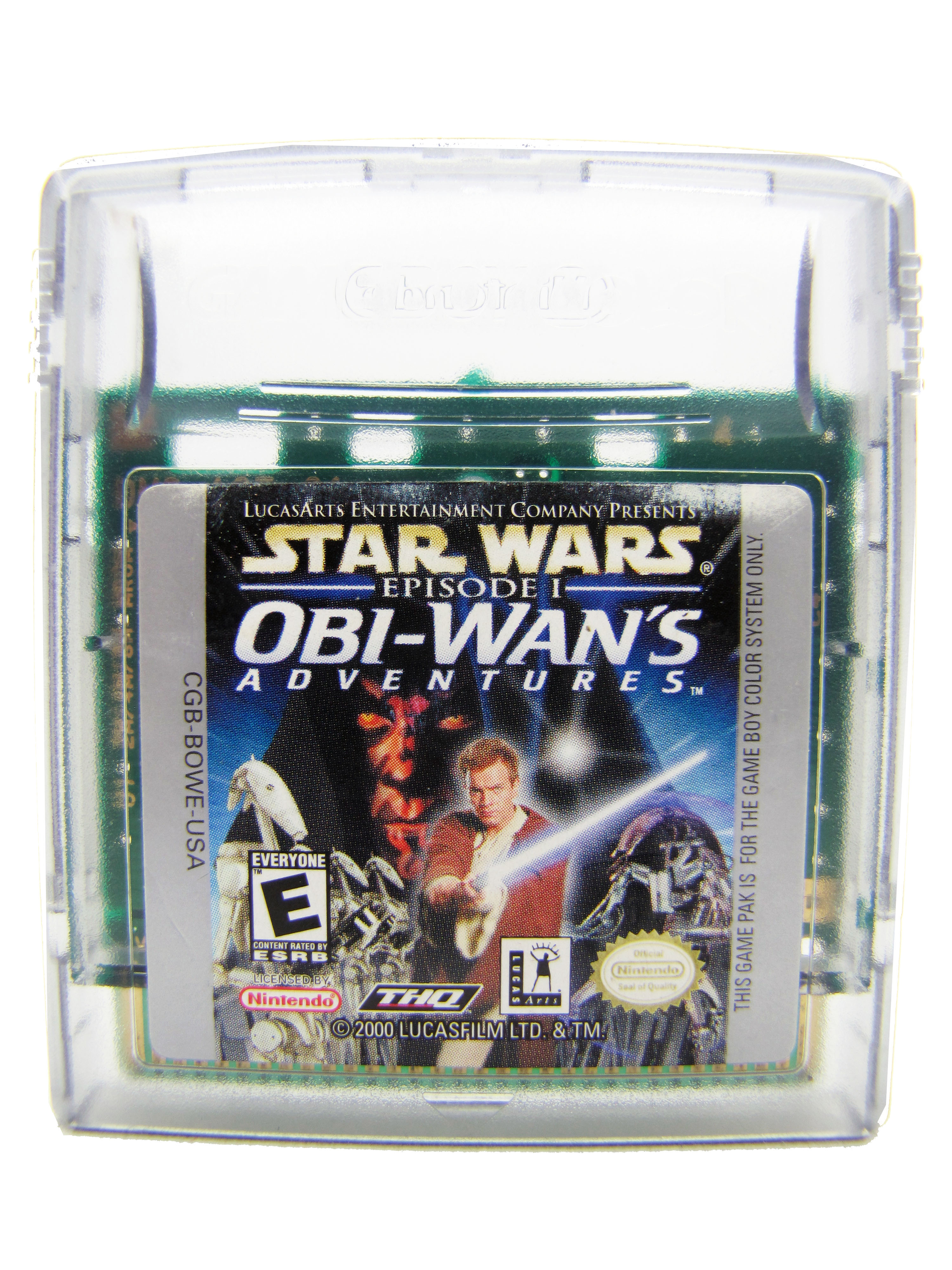 Game Boy Color Star Wars: Episode I Obi-Wan's Adventures - 2000