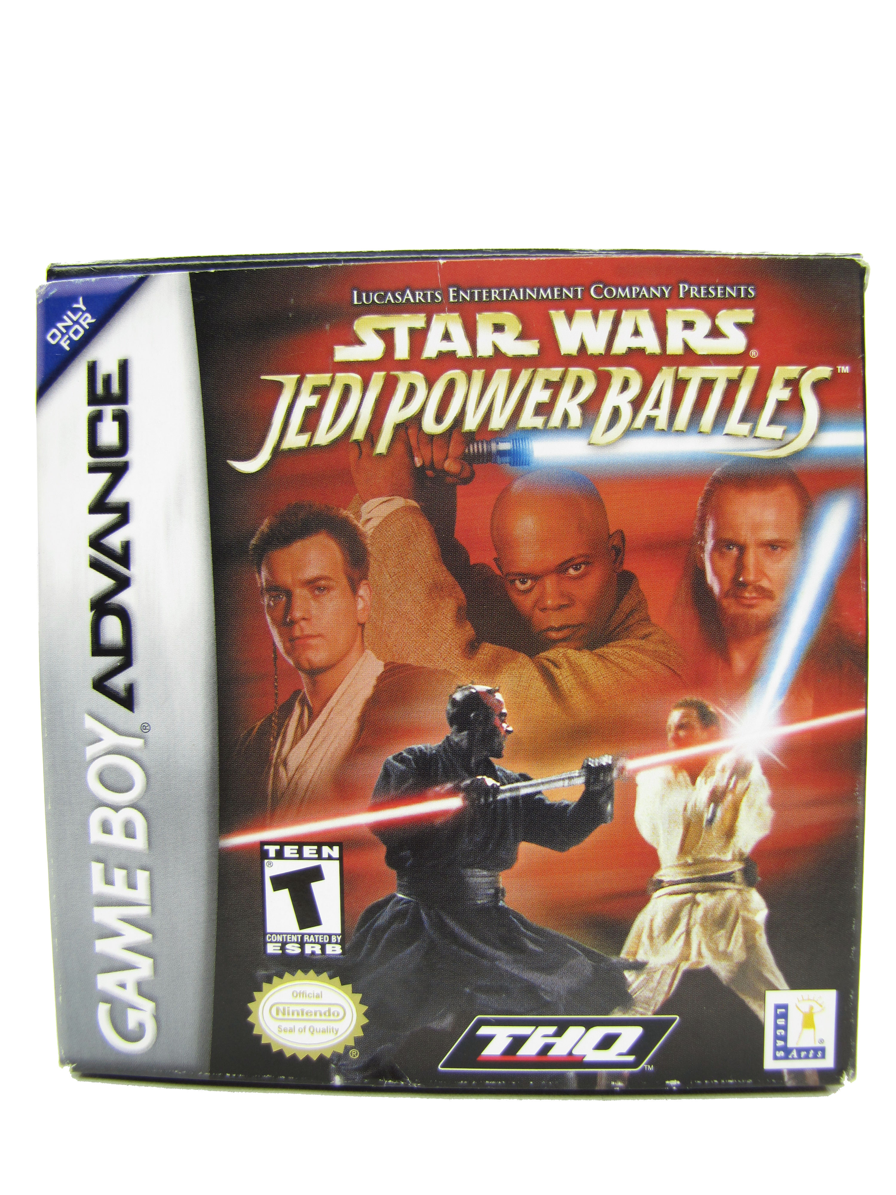 Game Boy Advance Star Wars: Jedi Power Battles Complete - 2001