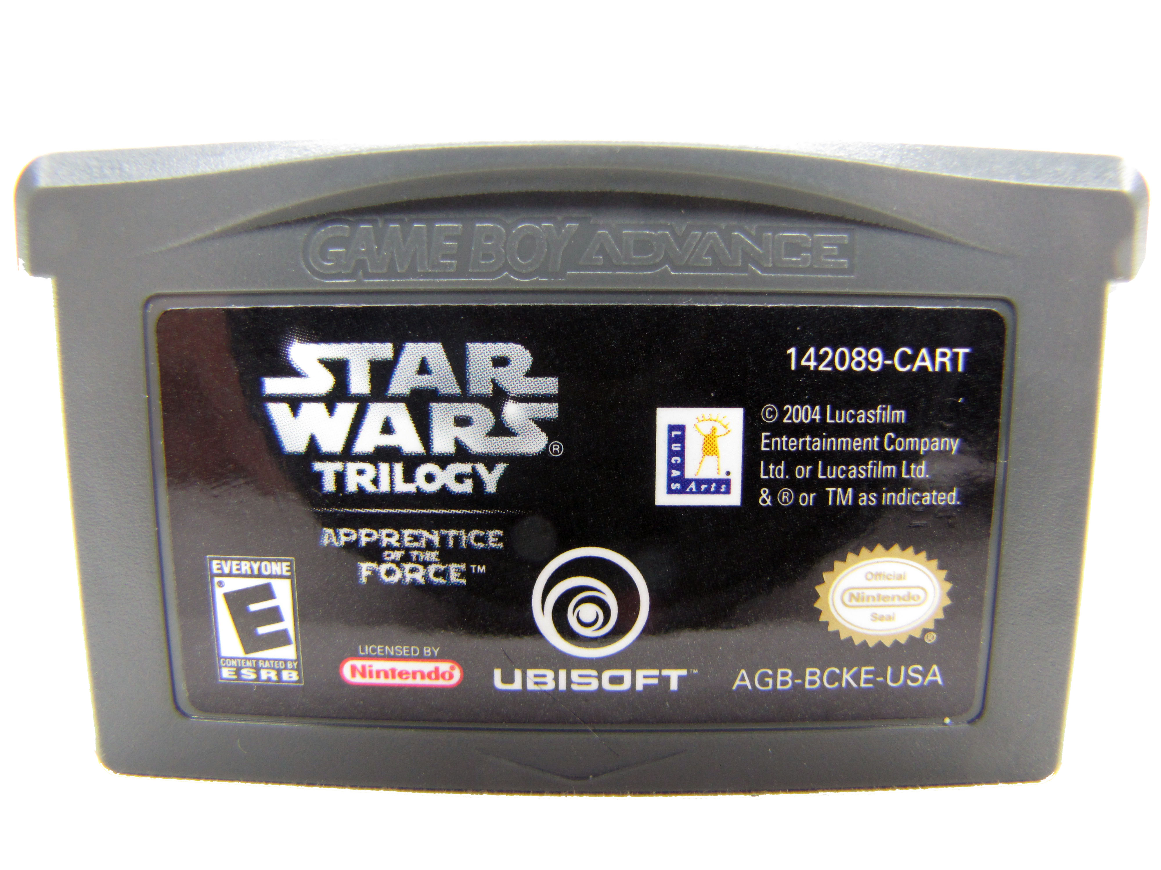 Game Boy Advance Star Wars Trilogy Apprentice of the Force 2004