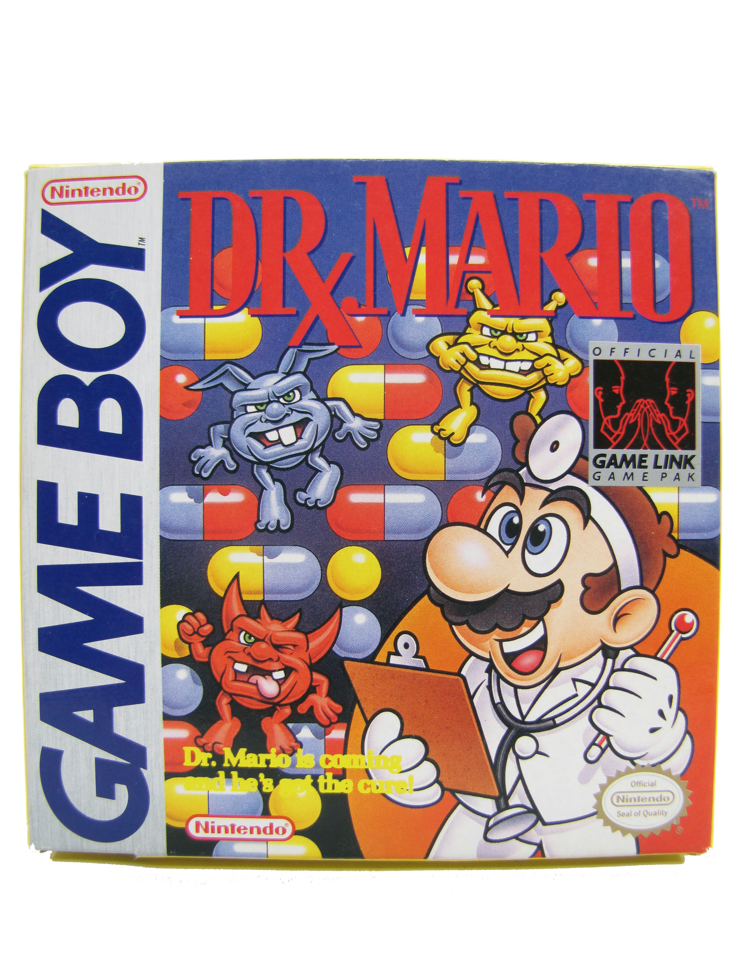 Game Boy Dr. Mario Complete in Box - 1990