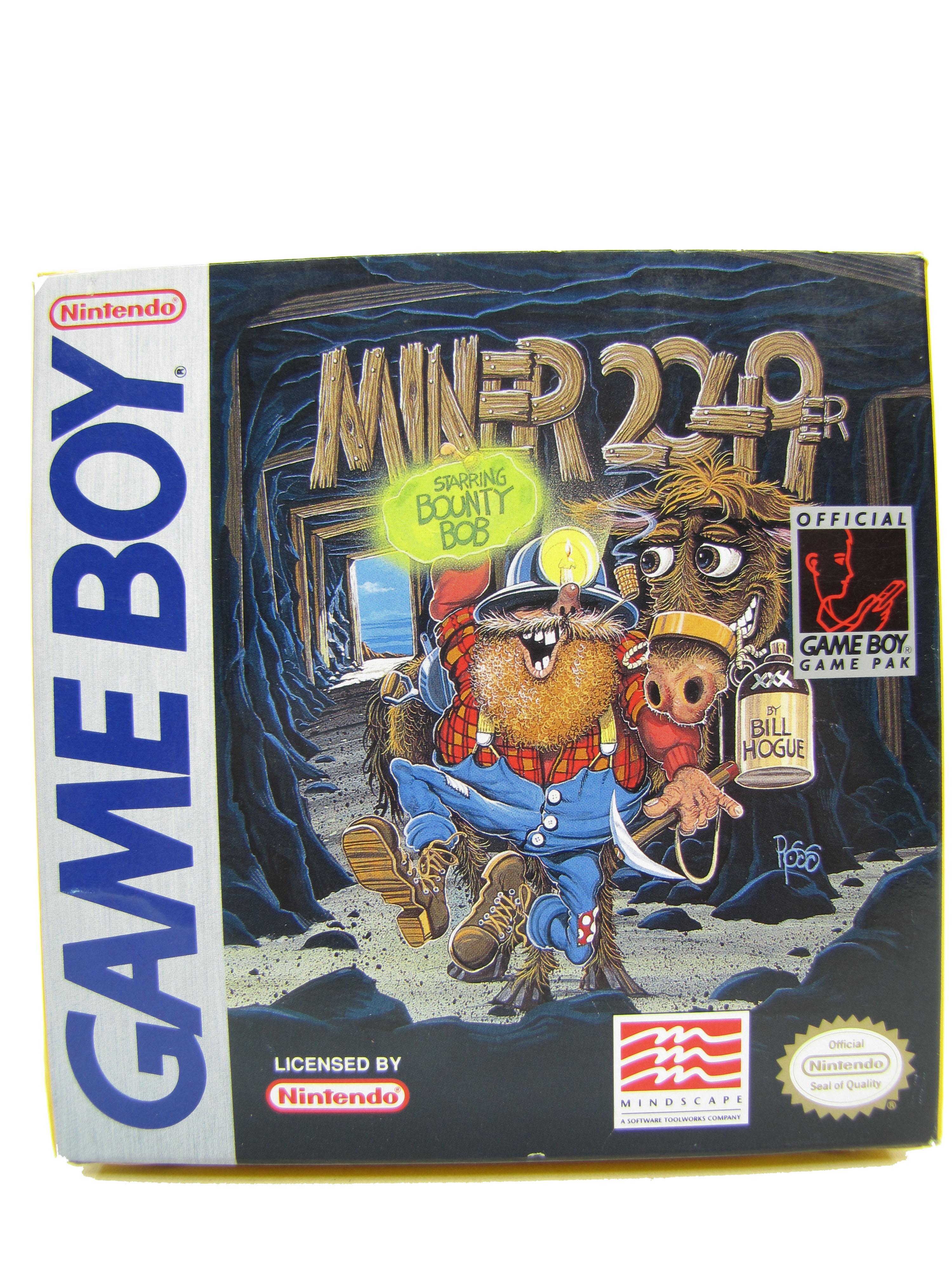 Game Boy Miner 2049er Complete in Box - 1992