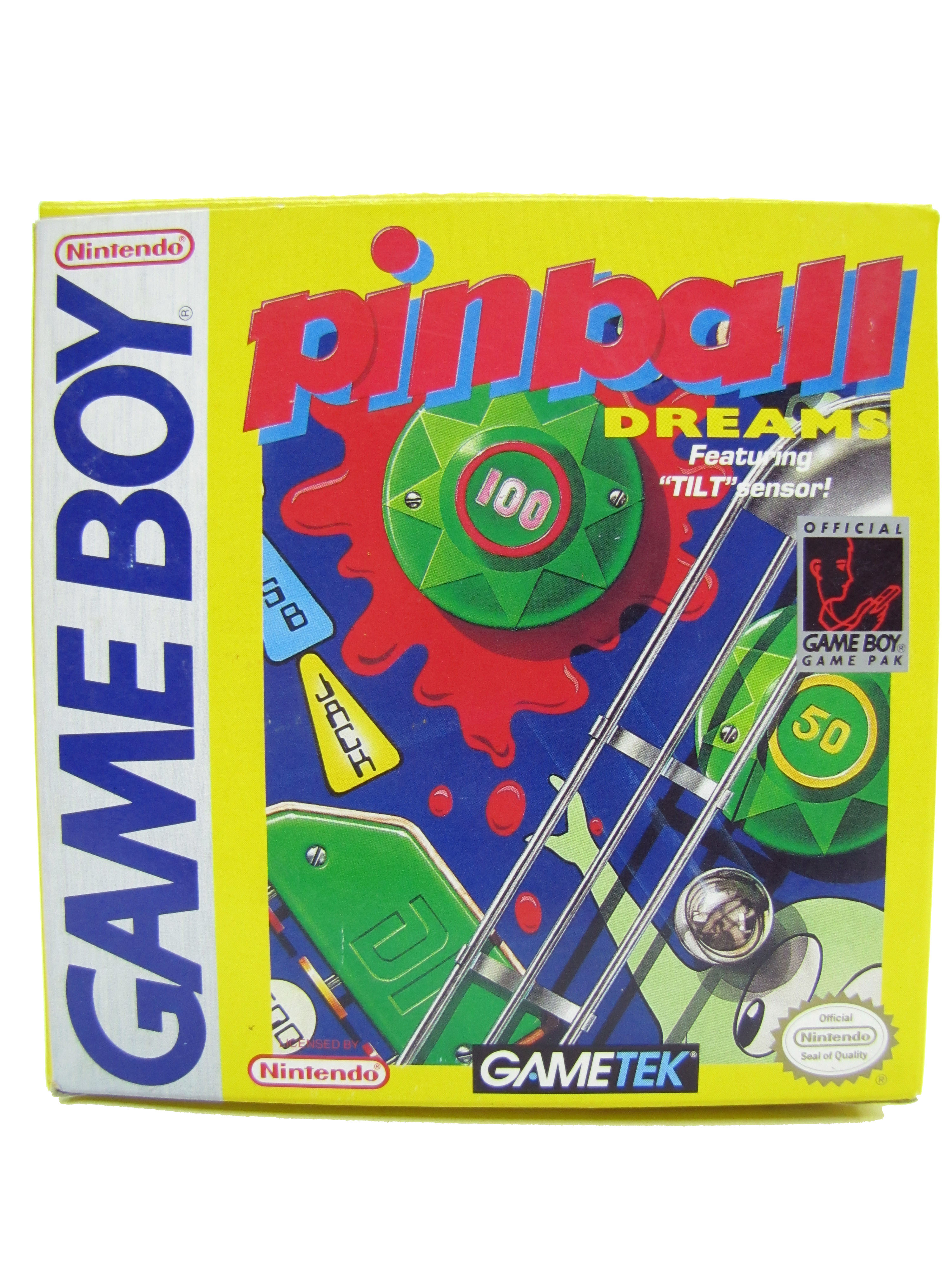 Game Boy Pinball Dreams Complete in Box - 1992