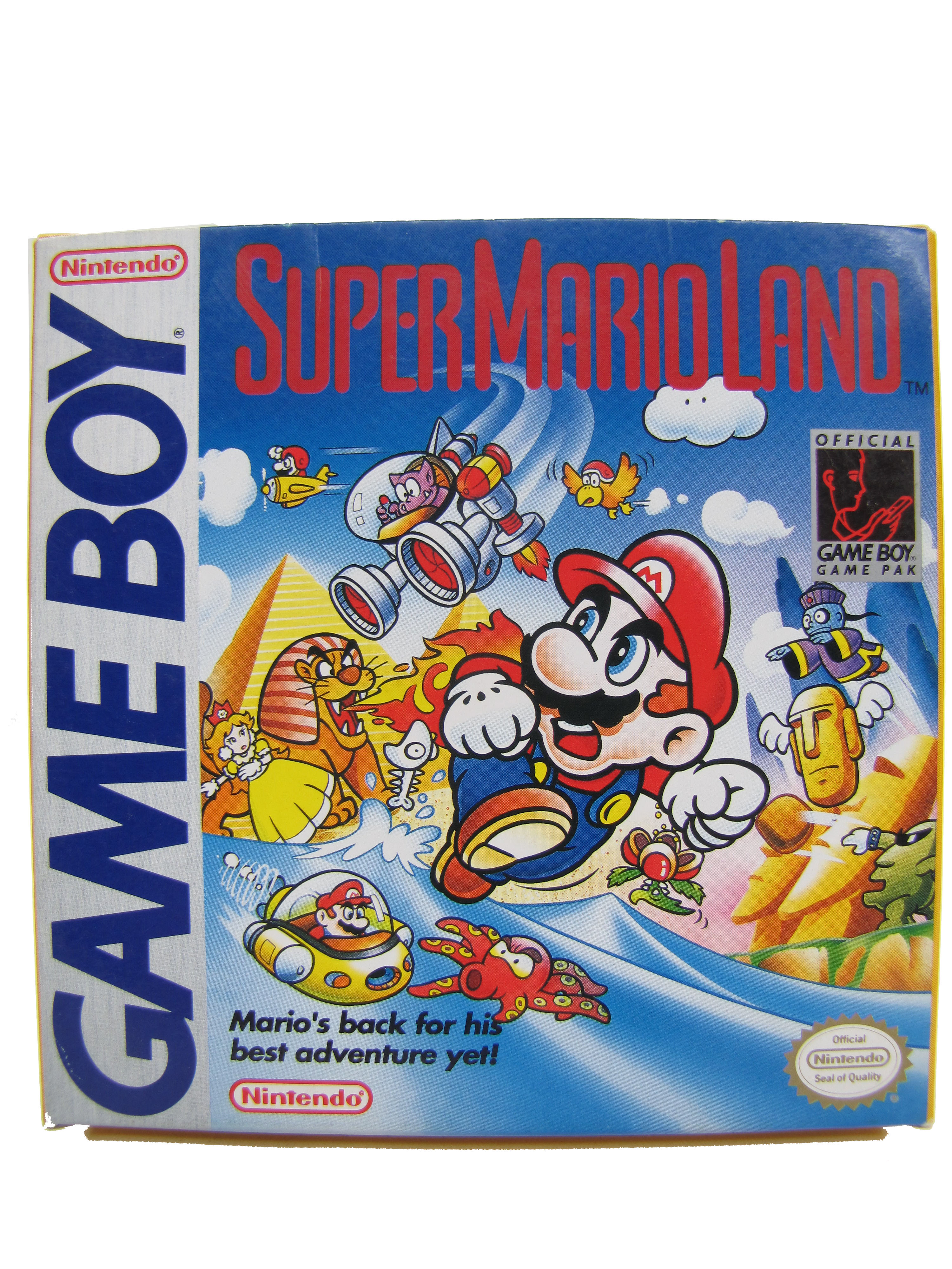 Game Boy Super Mario Land Complete in Box - 1989