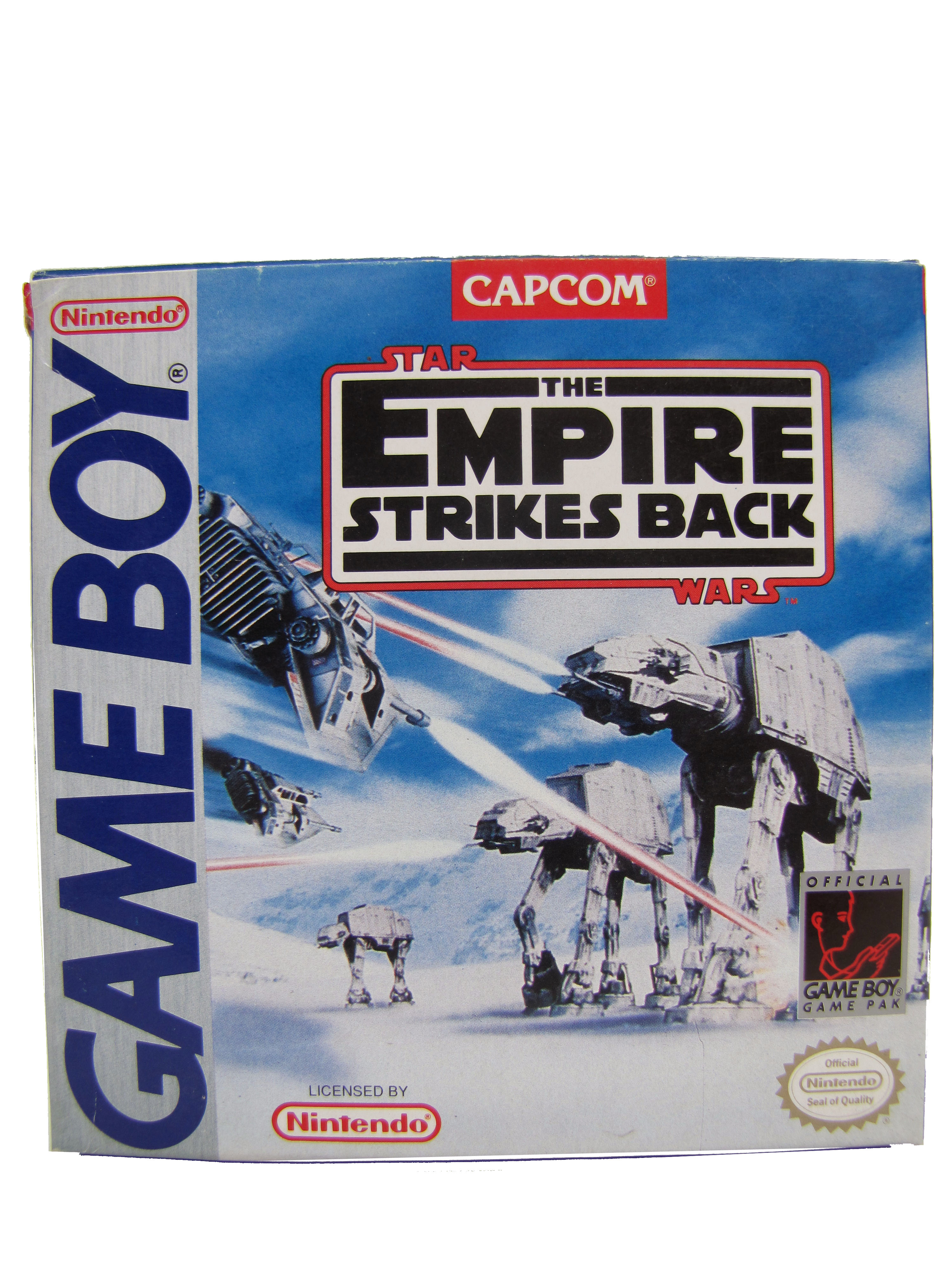 Game Boy The Empire Strikes Back Complete in Box - 1992