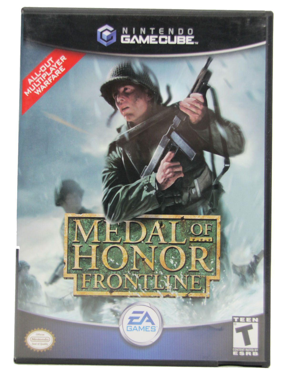 Game Cube Medal of Honor: Frontline Complete - 2004