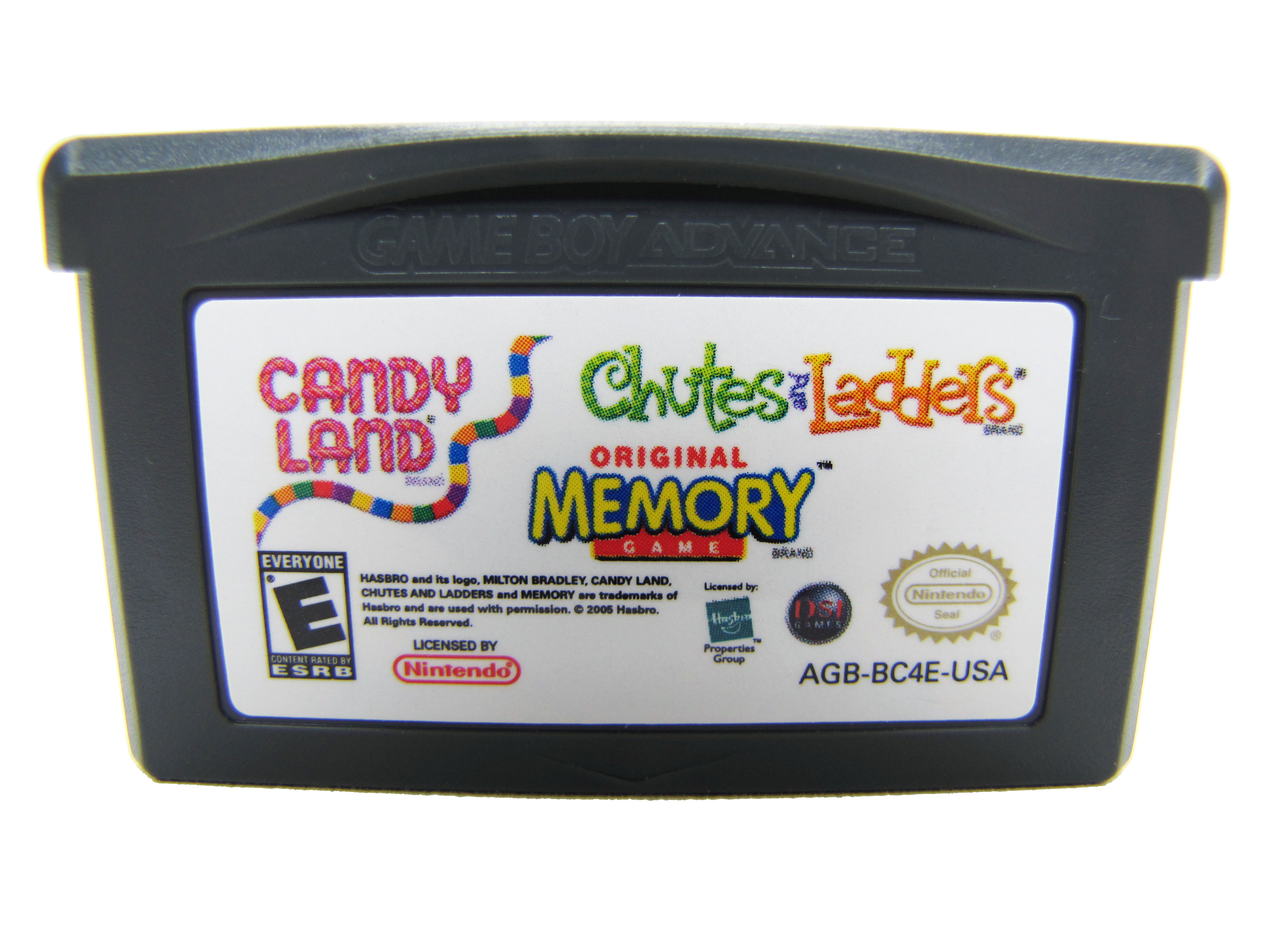 Game Boy Advance Candy Land Chutes & Ladders Memory - 2005