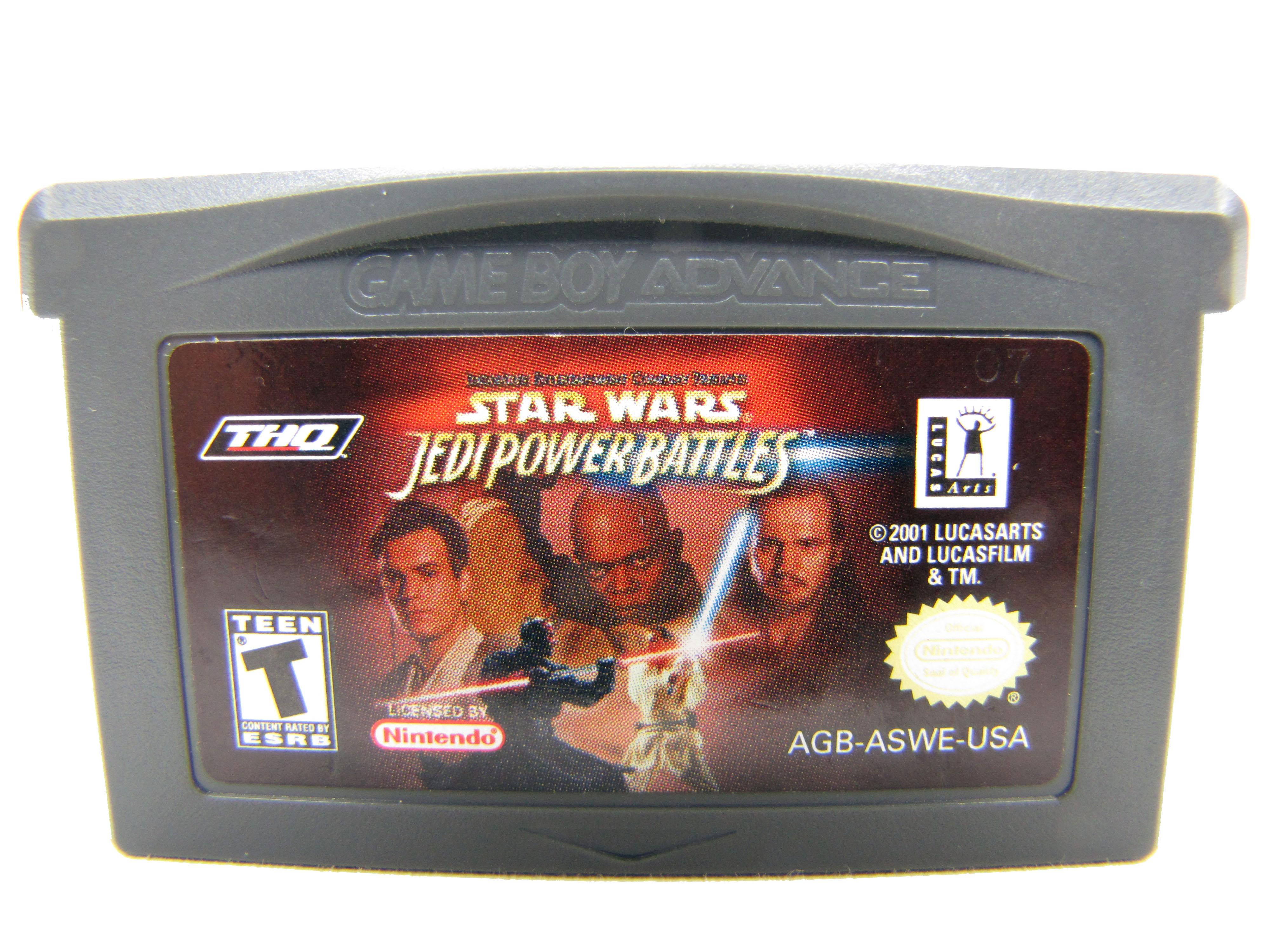 Game Boy Advance Star Wars: Jedi Power Battles - 2001
