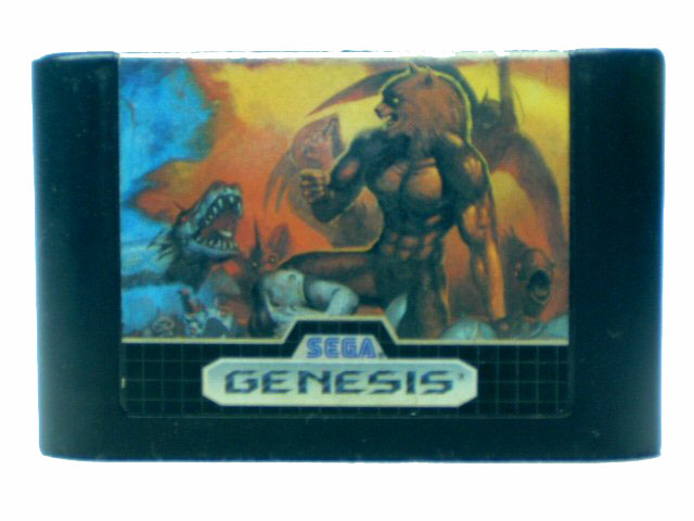 Sega Genesis Altered Beast - 1989
