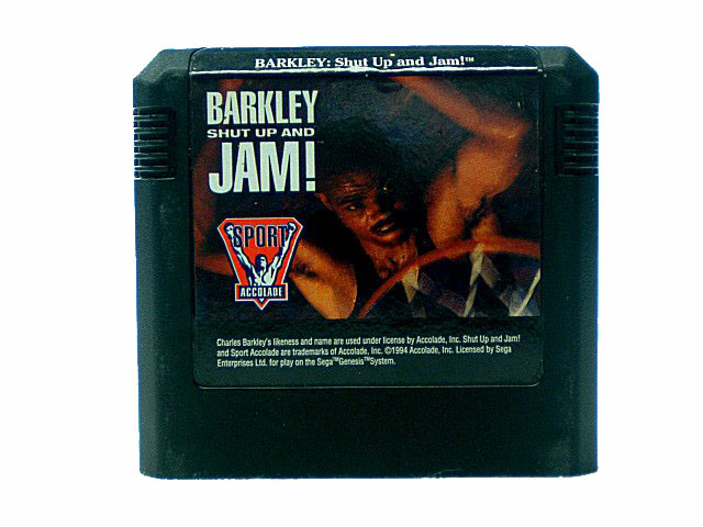 Sega Genesis Barkley: Shut Up and Jam! - 1993