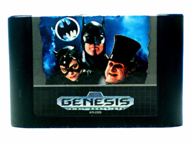 Sega Genesis Batman Returns - 1992