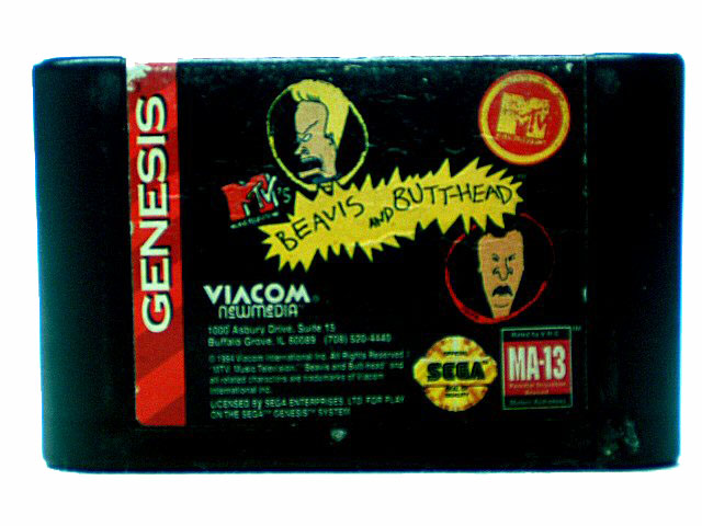 Sega Genesis MTV's Beavis and Butt-Head - 1994