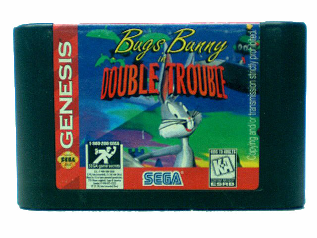 Sega Genesis Bugs Bunny in Double Trouble - 1996