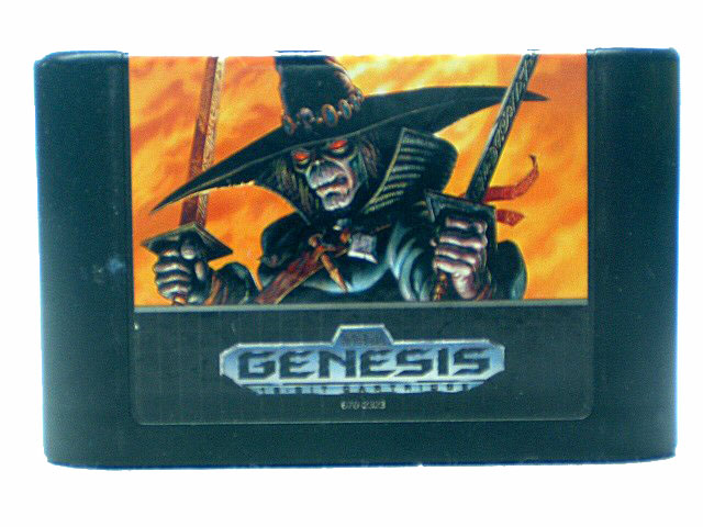Sega Genesis Chakan: The Forever Man - 1992