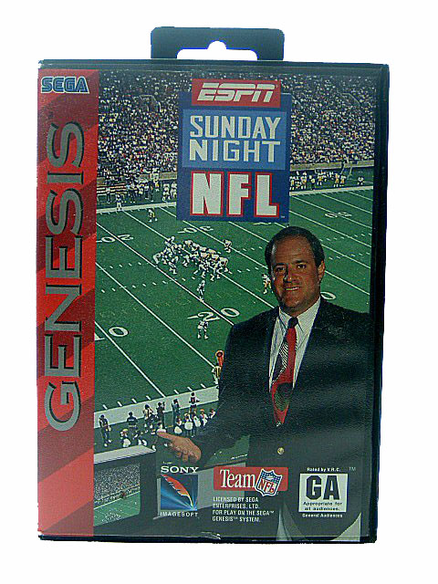 Sega Genesis ESPN Sunday Night NFL - 1994