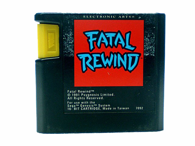 Sega Genesis Fatal Rewind (The Killing Game Show) - 1991