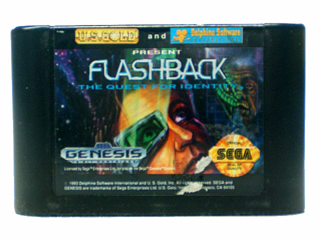 Sega Genesis Flashback: The Quest for Identity - 1993