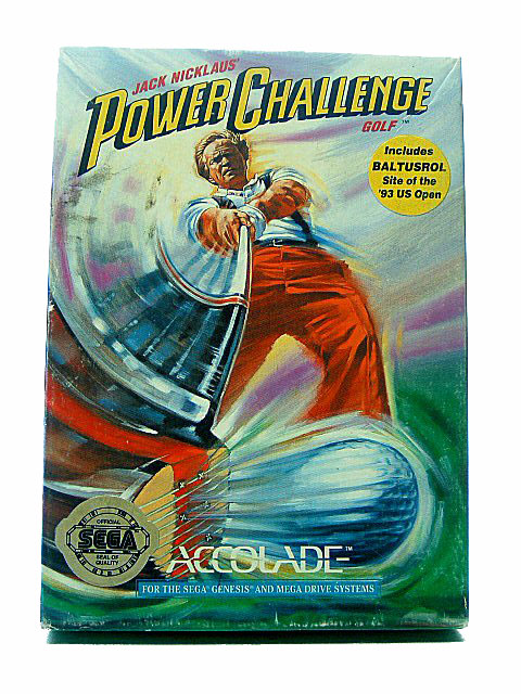 Sega Genesis Jack Nicklaus' Power Challenge Golf Complete - 1993