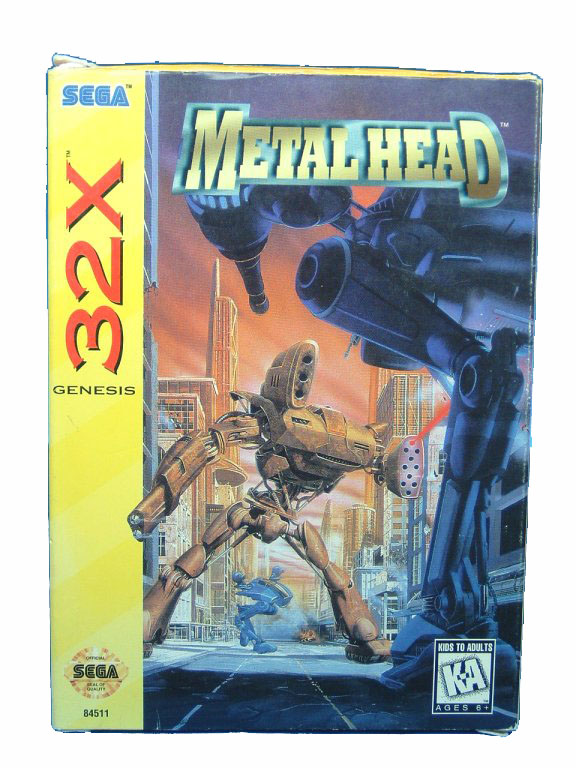 Sega Genesis Metal Head Complete in Box - 1995