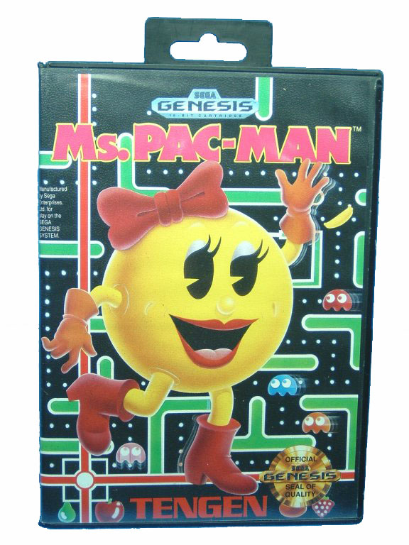 Sega Genesis Ms. Pac-Man Complete in Box - 1991