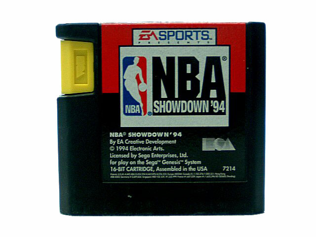 Sega Genesis NBA Showdown '94 - 1994