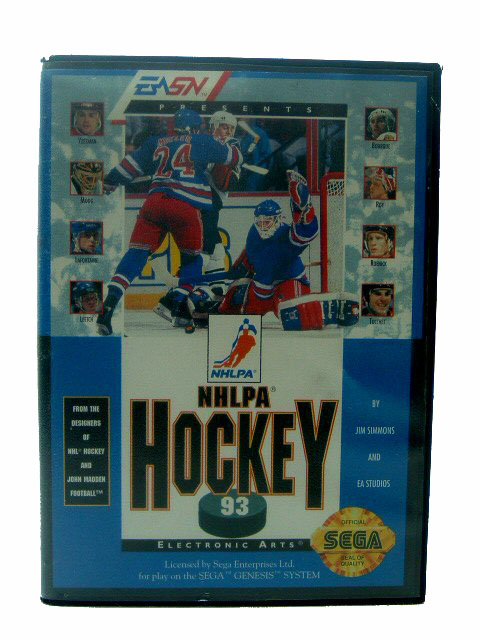 Sega Genesis NHLPA Hockey '93 Complete in Box - 1992