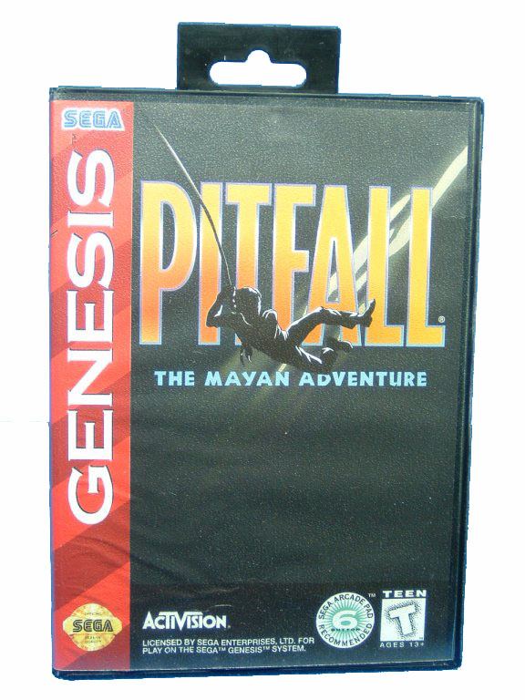 Sega Genesis Pitfall: The Mayan Adventure Complete in Box - 1994