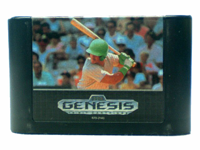 Sega Genesis Sports Talk Baseball - 1991