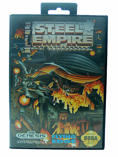 Sega Genesis Steel Empire Complete in Box - 1992