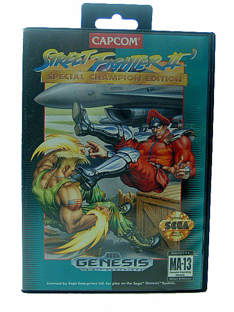 Sega Genesis Street Fighter II: Special Champion Edition - 1993