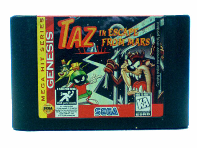 Sega Genesis Taz in Escape From Mars - 1994