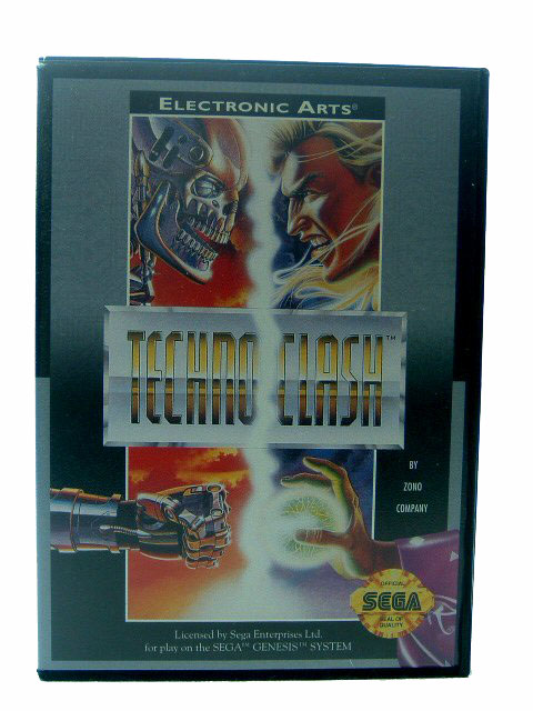 Sega Genesis Techno Clash Complete in Box - 1993