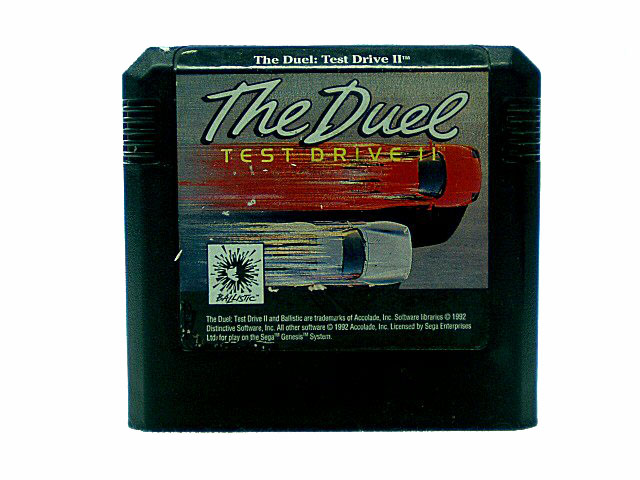 Sega Genesis The Duel: Test Drive II - 1992