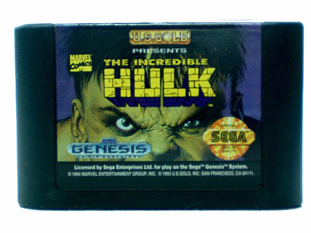 Sega Genesis The Incredible Hulk - 1994