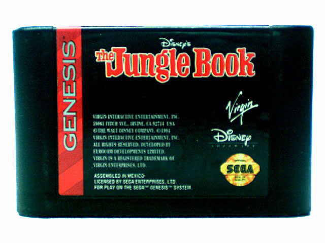 Sega Genesis The Jungle Book - 1995