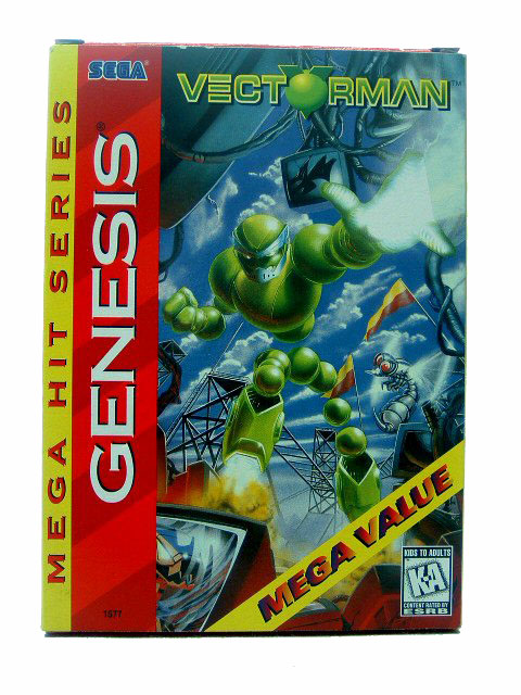 Sega Genesis Vectorman Complete in Box - 1995