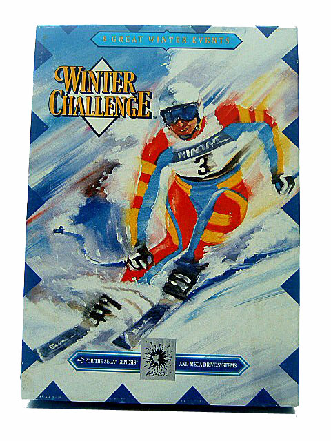 Sega Genesis Winter Challenge Complete in Box - 1992