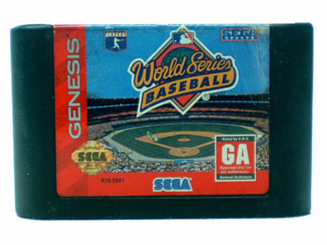 Sega Genesis World Series Baseball - 1994