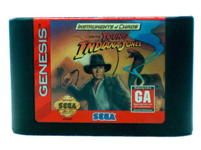Sega Genesis Instruments of Chaos Starring Young Indiana Jones -
