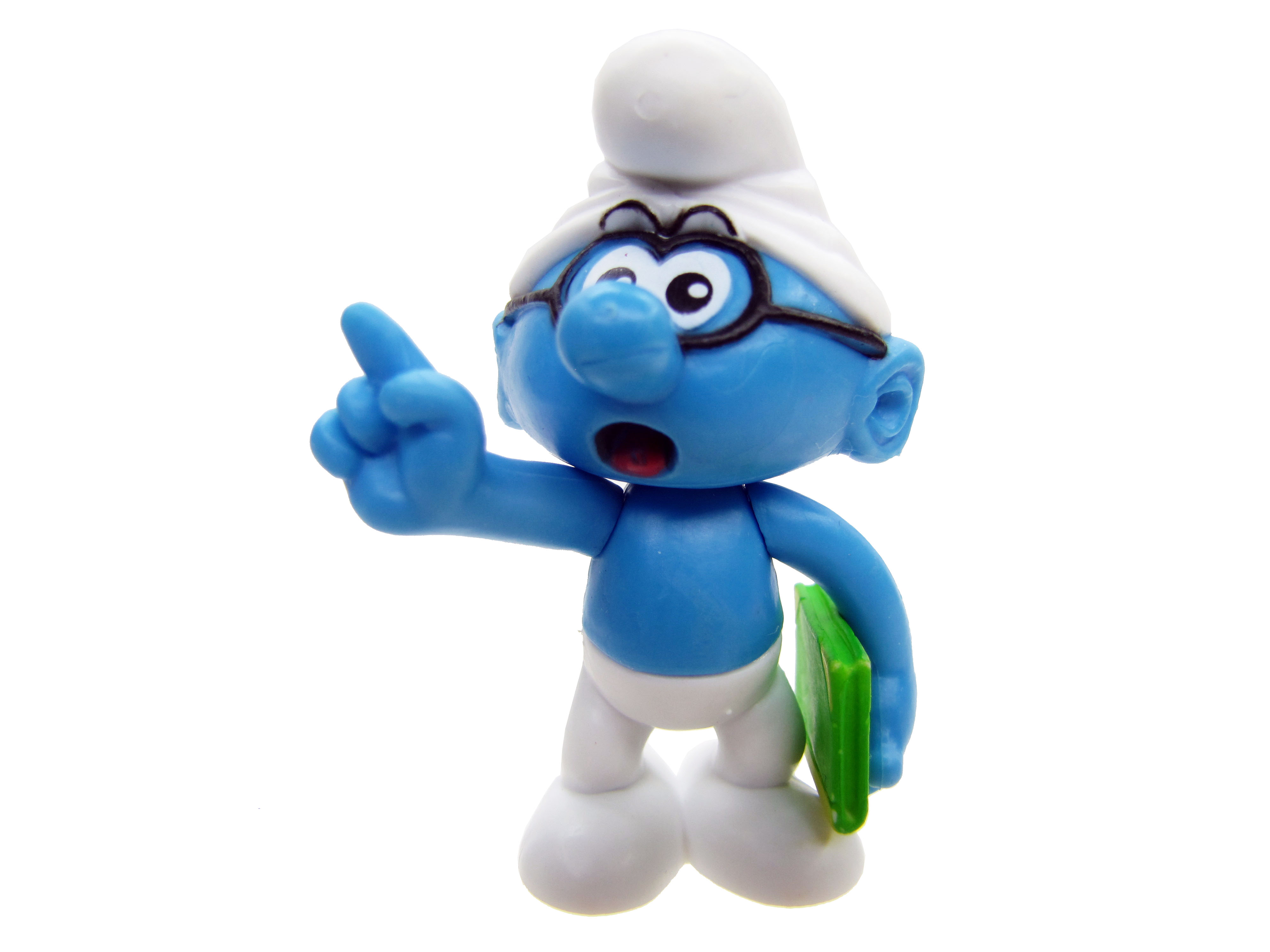 2008 The Smurfs Series 1: Brainy Smurf Complete
