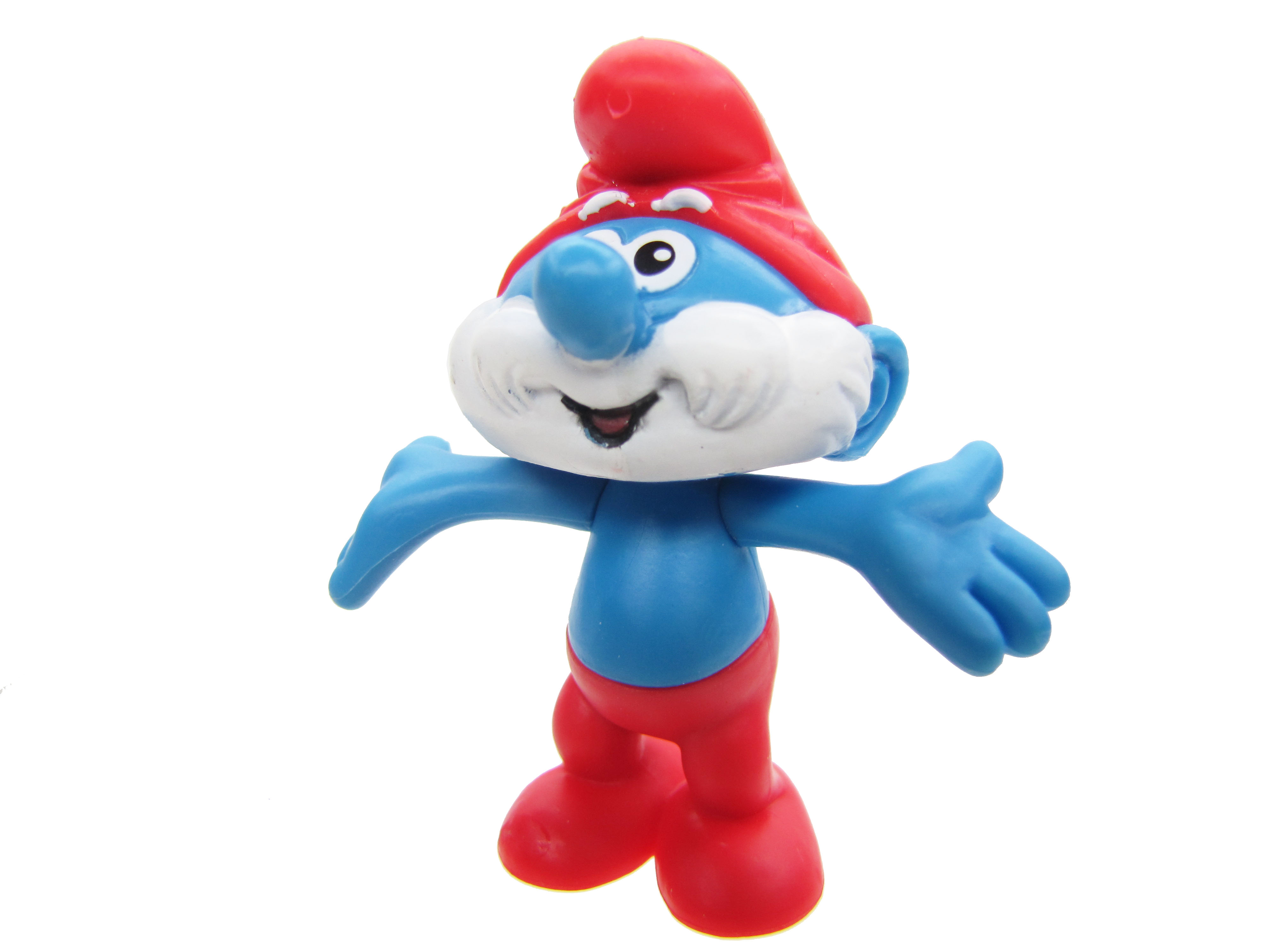 2008 The Smurfs Series 1: Papa Smurf Complete