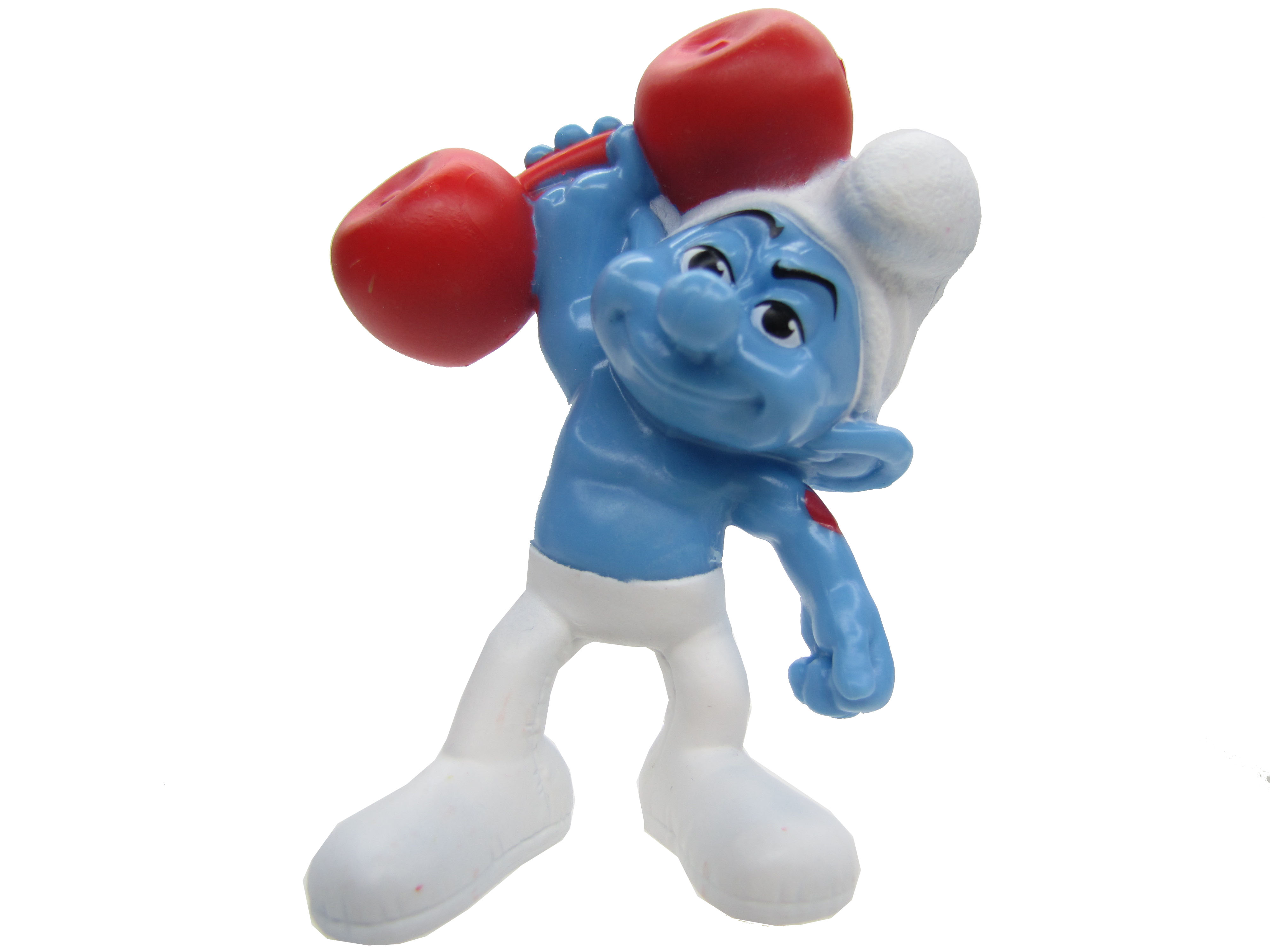 2011 The Smurfs McDonald's Hefty Smurf Complete