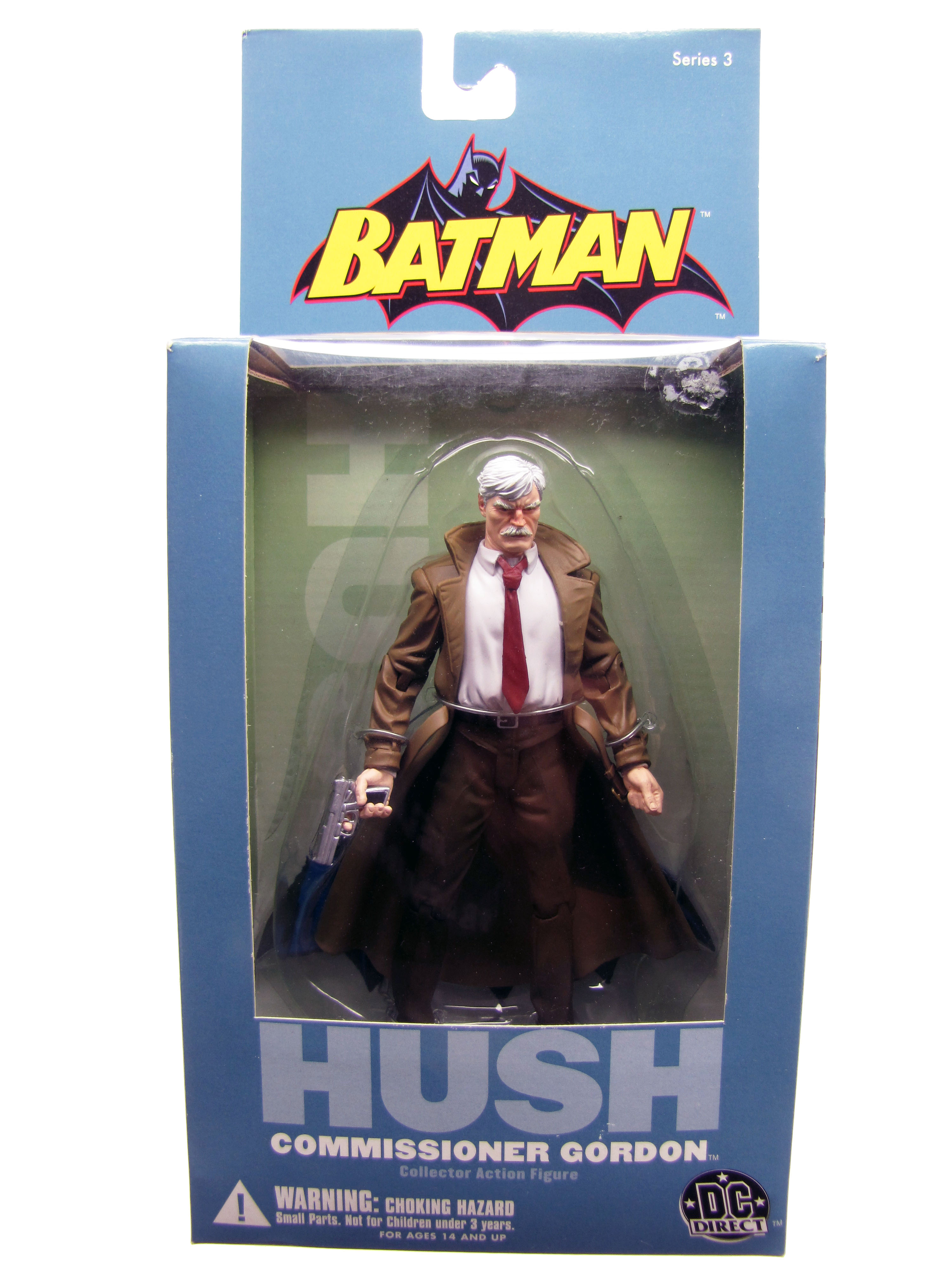 Batman Hush Comissioner Gordon Mint in Sealed Box