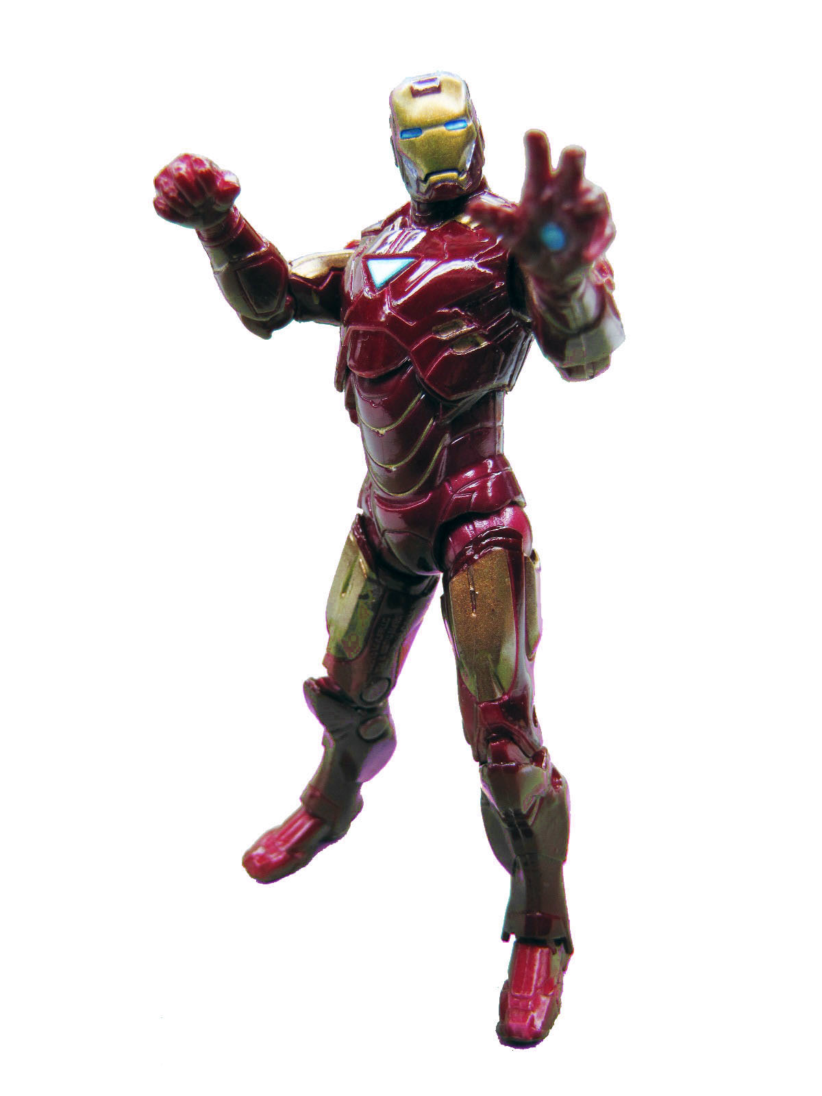 Marvel Iron Man 2 Movie Series Mark VI Complete